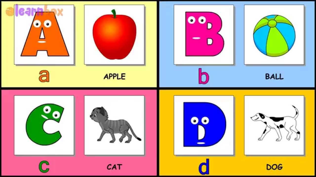 a for apple nursery rhyme learn the alphabet phonics song nursery