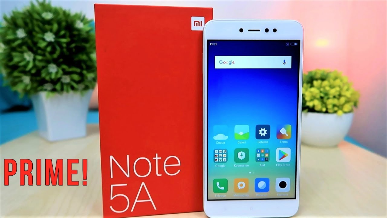 Unboxing Xiaomi Redmi Note 5a Prime Indonesia Youtube
