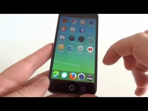 Alcatel One Touch Fire E FIREFOX unboxing