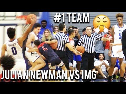 Julian Newman Vs #1 Team IMG! THE REMATCH! 97-37! Josh Green GOES CRAZY On Senior Night!