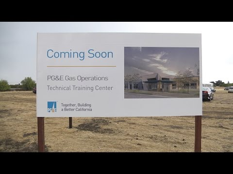 PG&E Breaks Ground on $75 Million State-Of-The-Art Gas Training Facility