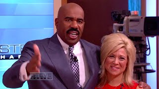 Theresa Caputo returns! || STEVE HARVEY