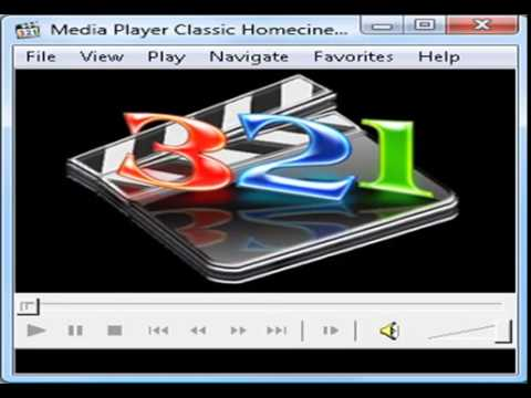 Media player classic 321 free download.