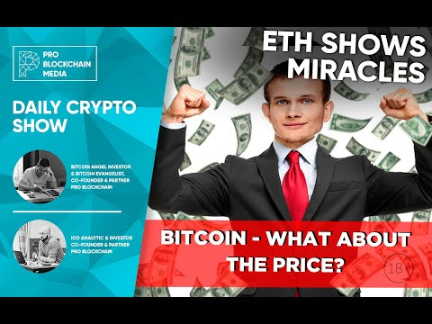 Ethereum Shows Miracles /  CEO Coin Ninja Arrested In USA /  BITCOIN - What About The Price?
