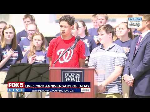 FOX 5 LIVE (6/6): Shots outside Notre Dame, Paris; D-Day anniversary