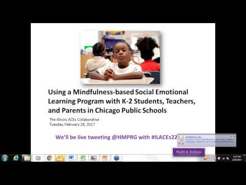 Using a Mindfulness based Social Emotional Learning Program with CPS