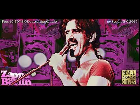 """Zappa In Berlin 1978 - """"The Torture Never Stops"""" ( Bootleg )"""