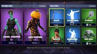 COMPTE À REBOURS DE LA BOUTIQUE D'ARTICLES FORTNITE ! 16 octobre - New Skins! (Fortnite Battle Royale)