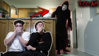 *SCARY* GAME MASTER BROKE INTO OUR HOUSE AT 3 AM!! (WE NEED HELP)