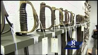 Gettysburg artifacts secured in storage room