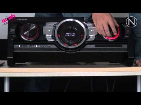 Potencia al máximo, mini-componente Giga Sound Beat MX-FS9000 de Samsung
