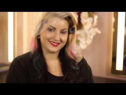 Birdcage Bridal Hairstyles : Wedding & Event Hair