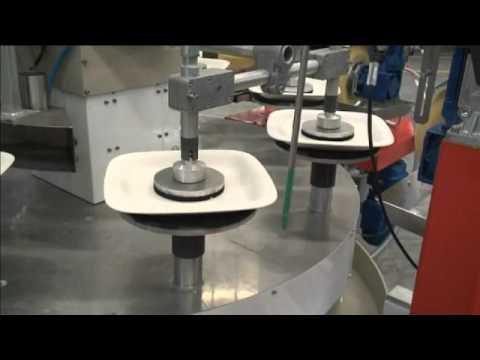 Isostatic pressing of tableware by SAMA