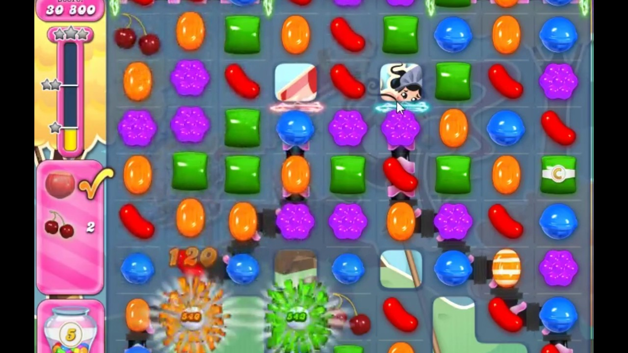 Candy Crush Saga Level 2435 - NO BOOSTERS
