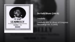De Kalb Blues (144-B)