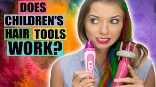 Do Children's Hair Tools Actually Work?
