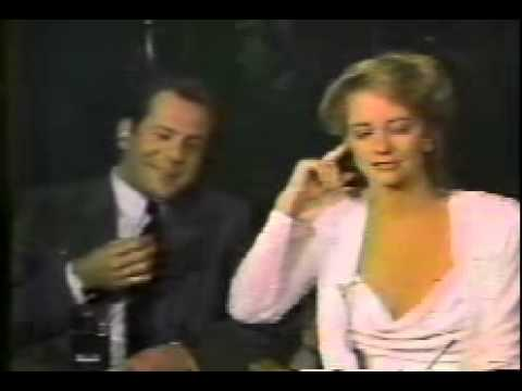 Bruce Willis and Cybill Shepherd on GMA January 1986