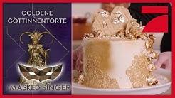 Goldene Göttinnen-Torte   The Masked Singer   ProSieben
