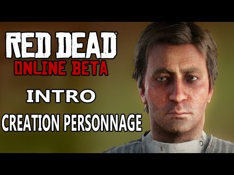 RED DEAD ONLINE FR | Intro - Creation du Perso - Coop