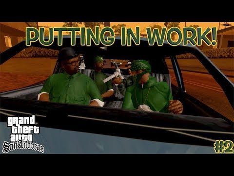 "CJ NEEDS TO STICK TO DRIVING! ( FUNNY ""GTA SAN ANDREAS"" GAMEPLAY #2)"