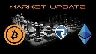 Cryptocurrency Market Update - Ethereum Vs Bitcoin and RIMBIT RBT
