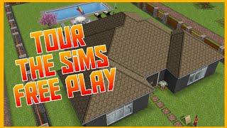 Casa Térrea, The Sims Free Play, para casal com 1 filho!!!
