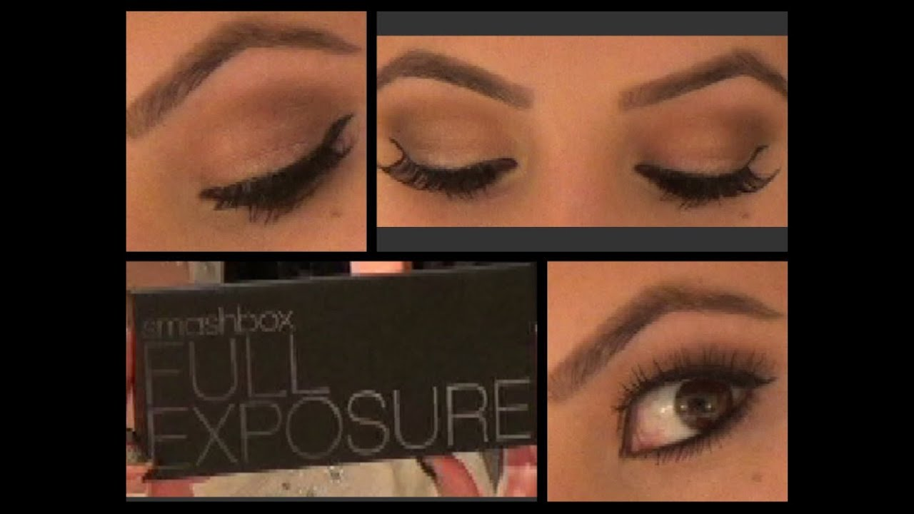 How To Do A Natural Eyeshadow Look Smashbox Full Exposure Tutorial