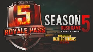 PUBG MOBILE | SEASON 5 UPDATE | AIRDROP HUNTING AND RUSH GAMEPLAY😍