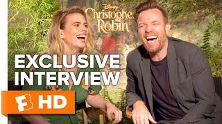 Ewan McGregor Finds Hayley Atwell's Ventriloquist Talent Hilarious | 'Christopher Robin' Interview