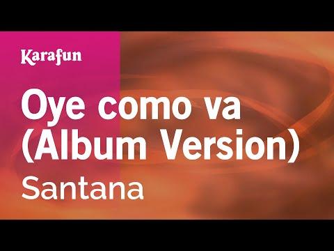 Karaoke Oye Como Va - Santana *