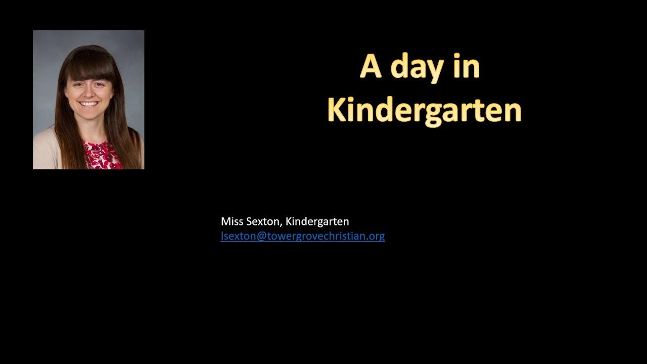 TGCA Kindergarten Informational Video