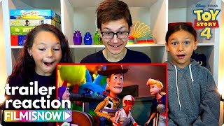 d-three KIDS React to TOY STORY 4 Final Trailer