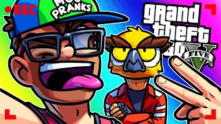 GTA 5 Funny Moments - Moo Pretending to be a Youtube Prankster!