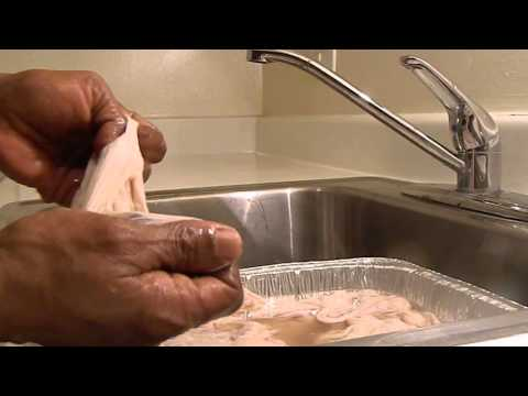 How To Clean Chitterling