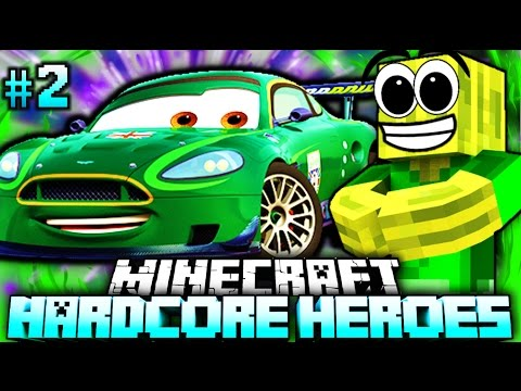 DAS AUTO LEBT EINFACH?!? - Minecraft Hardcore Heroes 5 - #02 [Deutsch/HD]