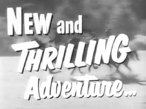 """1952 THE BLACK LASH - Trailer - Al """"Lash"""" La Rue, Al """"Fuzzy"""" St. John"""