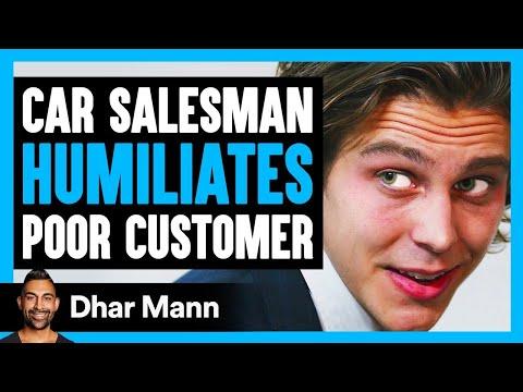 Car Salesman Humiliates Poor Man, INSTANTLY REGRETS IT!   Dhar Mann