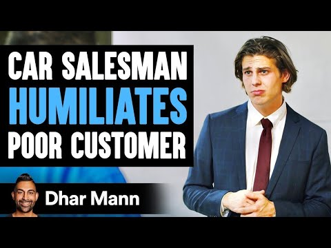 Car Salesman Humiliates Poor Man, Then Instantly Regrets His Decision | Dhar Mann