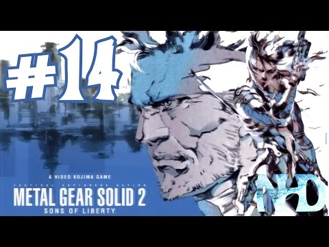 Let's Play Metal Gear Solid 2 Substance (pt14) Rest of the Bombs