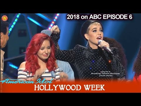 American Idol 2018 Hollywood Week Crystal Alecia Selfless to save others Round 2 Group Don't Touch