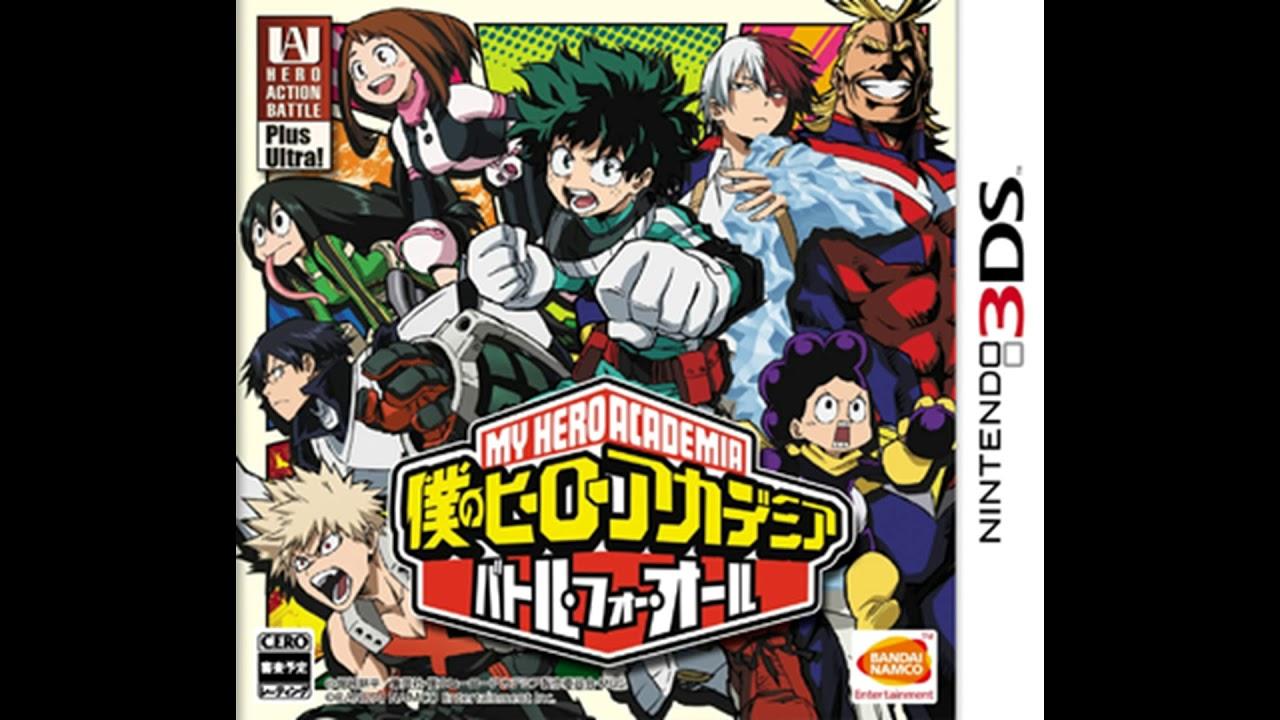 Ost Boku No Hero Academia Battle For All Shigaraki
