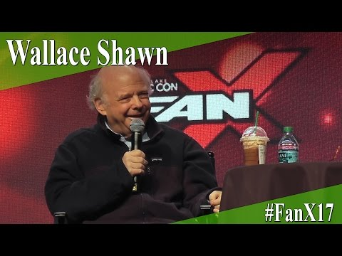 Wallace Shawn - Full Panel/Q&A - FanX 2017