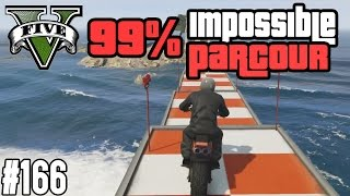 99% IMPOSSIBLE MOTORRAD WASSER PARCOUR ?! (+DOWNLOAD) | GTA V - CUSTOM MAP RENNEN