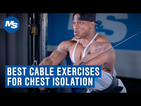 Try This: Best Cable Exercises For Chest Isolation w/ Brandon Hendrickson