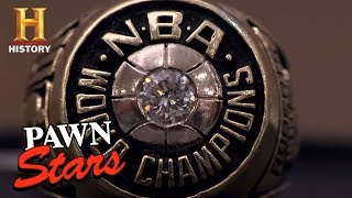 Pawn Stars: 1975 Golden State Warriors Ring (Season 8) | History