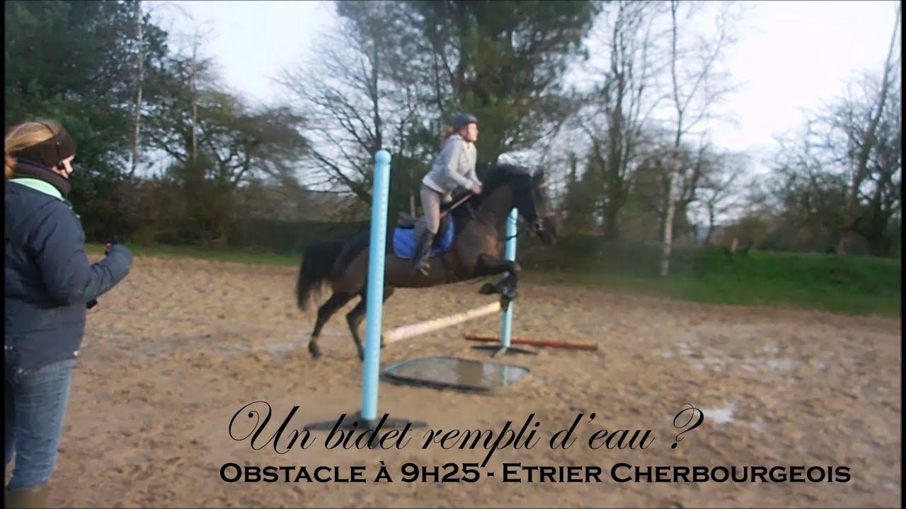 Un Bidet Rempli D Eau Obstacle A 9h25 Etrier Cherbourgeois