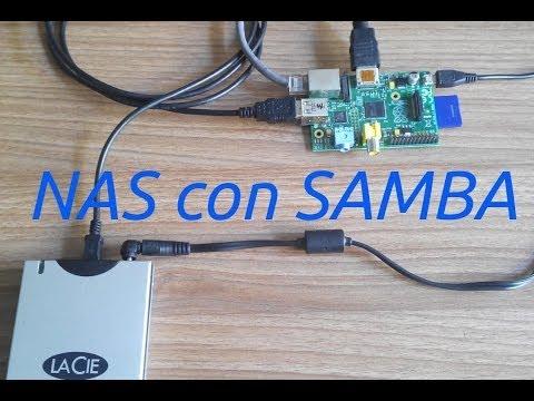 Raspberry Pi:  NAS con Samba