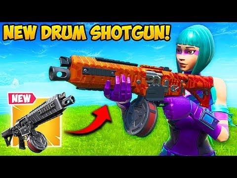 *NEW* DRUM SHOTGUN IS SUPER OP!! - Fortnite Funny Fails And WTF Moments! #606