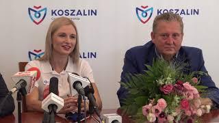 Prezydent Koszalina spotkał się z mistrzynią Europy Małgorzatą Hołub-Kowalik