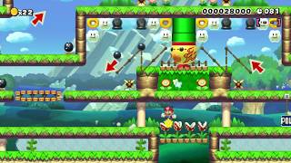 【マリオメーカー】SPEEDRUN (110) - Metamorphosis【Super Mario Maker】